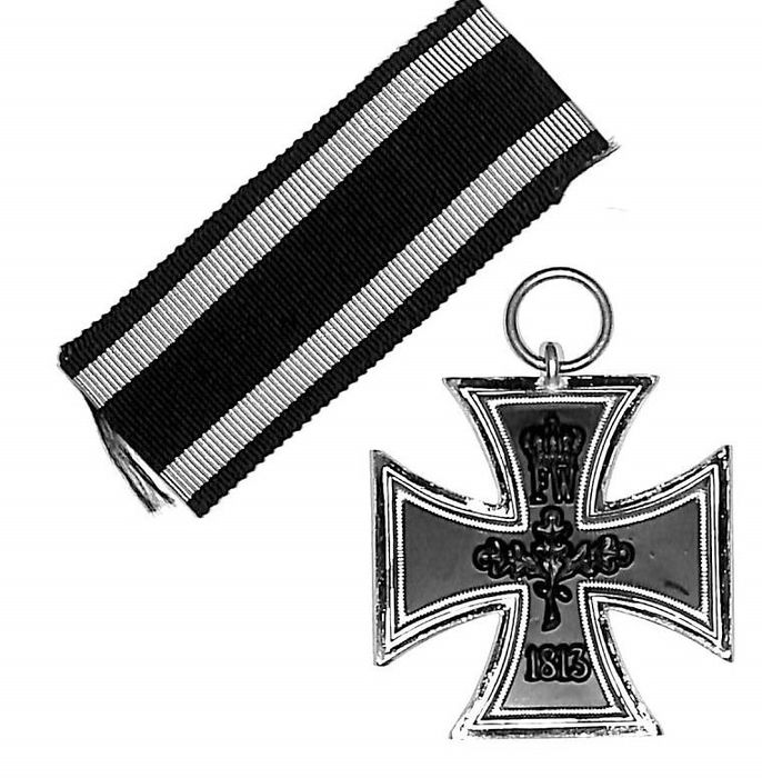 Alemania - Iron Cross 2nd Class 1914 con volumen EK2 Primera Guerra Mundial - Orden de honor - 1914
