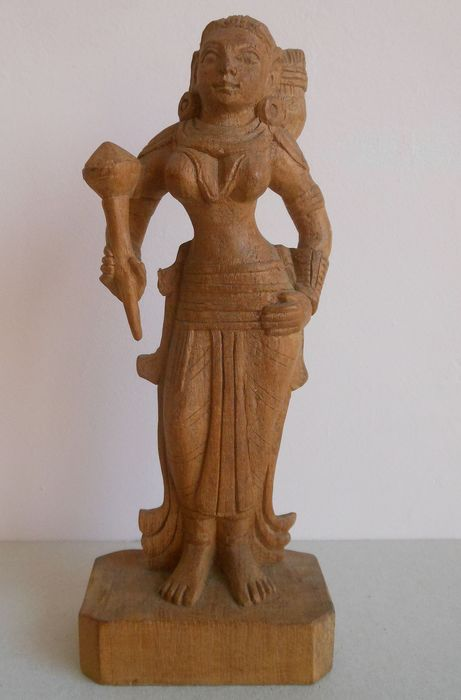 Sculpture (1) - Wood - India - Second half 20th century
