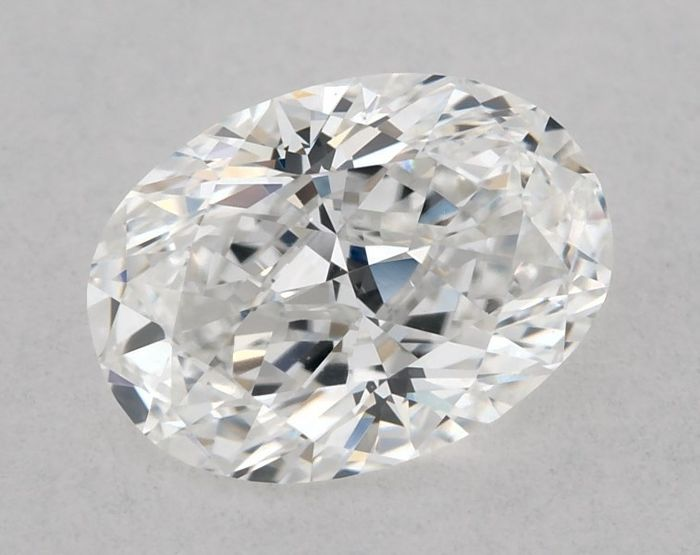 1 pcs Diamant - 0.70 ct - Briljant, Ovaal - E, GIA - EX/GD - VVS1, Low Reserve Price + Free Shipping