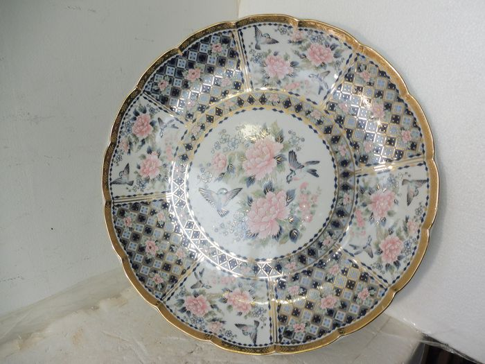 Dish - Porcelain - With Eiwa kinsei 栄和謹製 (Humbly made by Kinsei) mark - Japan - Late 1950s