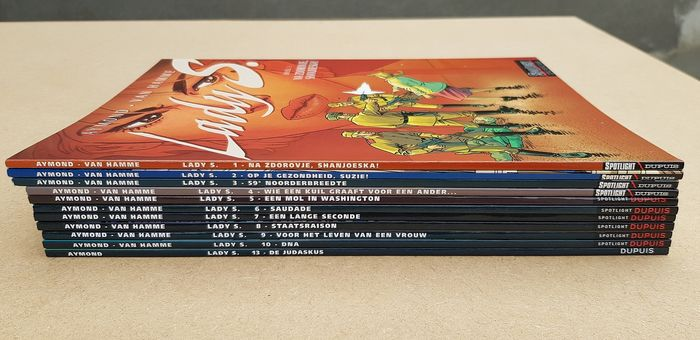 Lady S. 1 t/m 10 + 13 - Verschillende - Softcover - First edition - (2004/2017)