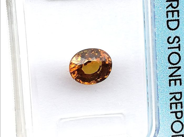 """Without reservation - """"Garnet"""" - Andradita Grosular - 0.99 ct"""