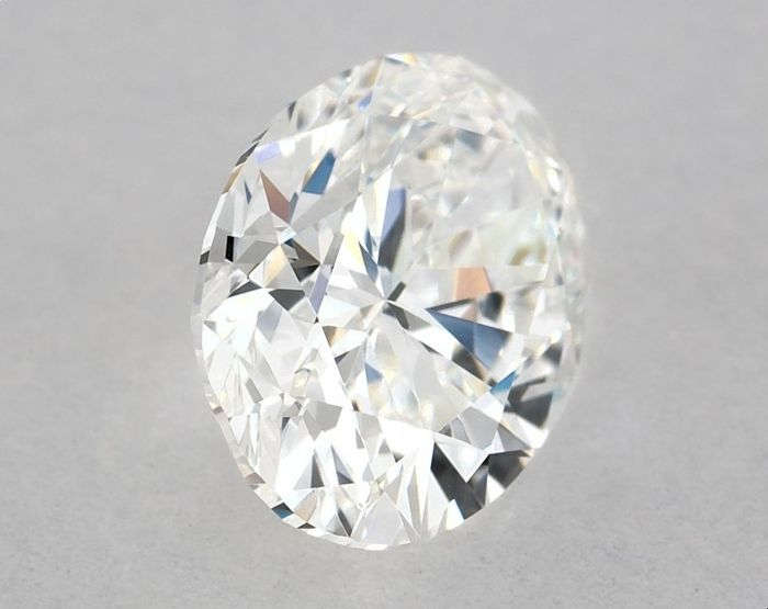 1 pcs Diamante - 1.01 ct - Oval - G - VVS1, GIA - 2GD - Low Reserve Price