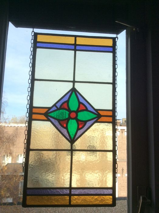 Window, with flour - Stained glass