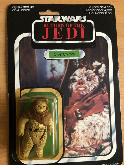 Star Wars - Palitoy - Personnage d'action Chief Chirpa