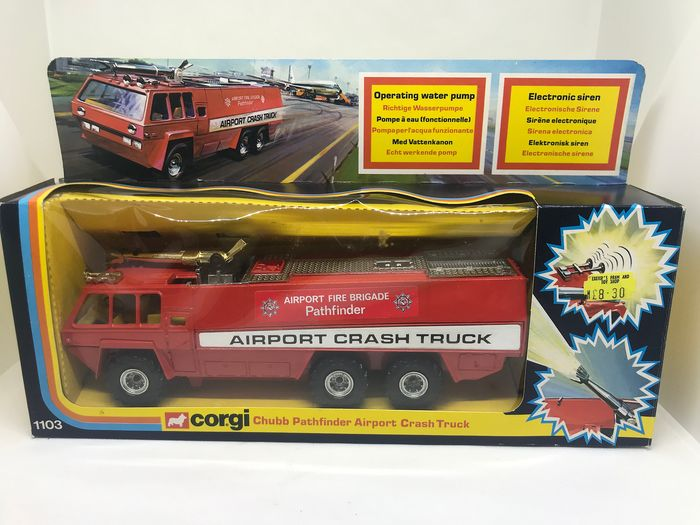 "Corgi - 1:43 - Chubb Pathinder ""Airport Crash Truck"" N°1103"