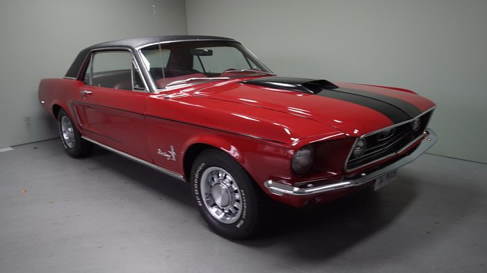 Ford - Mustang 302 J CODE 4 SPEED TOPLOADER! - 1968
