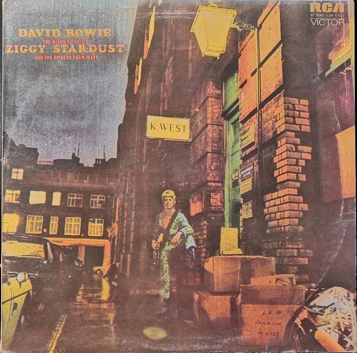 David Bowie - The Rise and Fall of Ziggy Stardust and The Spiders From Mars - LP Album - 1972
