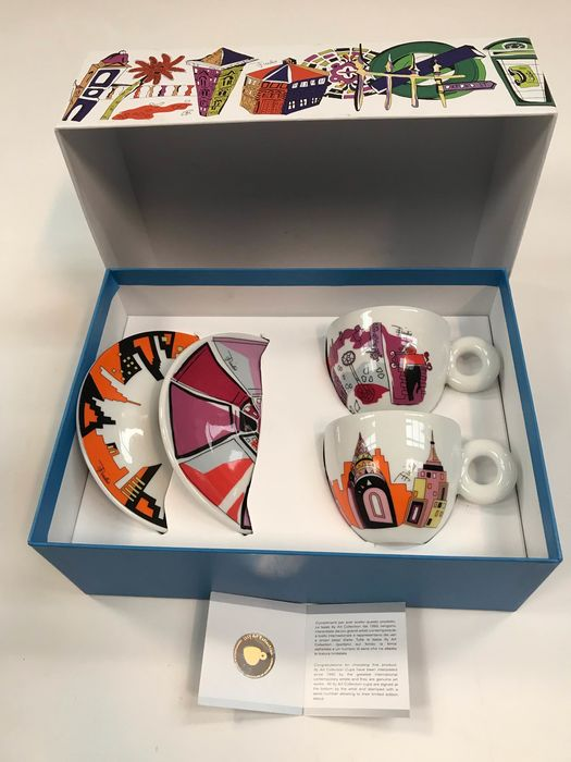 Emilio Pucci - Illy Art Collection - Cups and saucers (1)