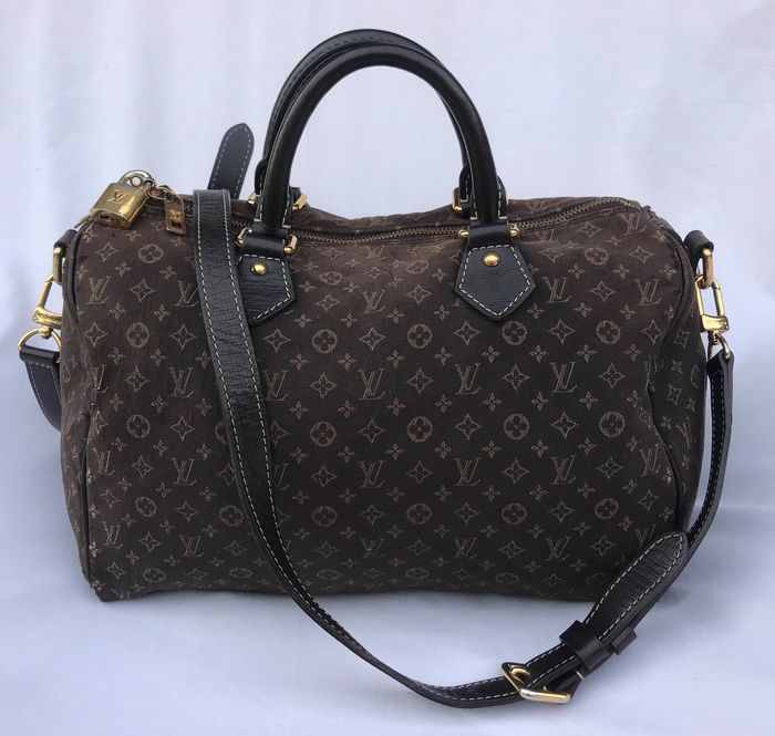 Louis Vuitton - Speedy 30 Bandouliere Mini Lin  Handbag