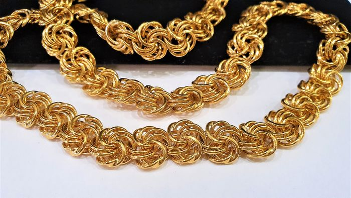 NAPIER 18kt gold plated - Choker Necklace