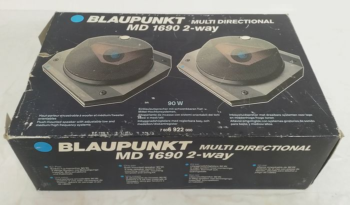 Speakers - Blaupunkt - MD 1690 Multi Directional 2 Way - 1986