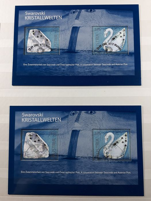 Austria 1972/2008 - Collection of mini-sheets, blocks, etc. in 2 albums