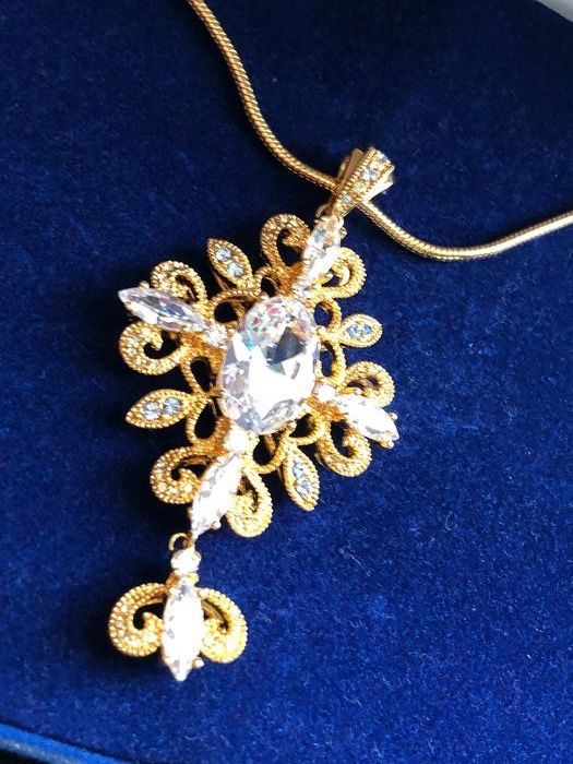 Camrose & Kross Gold-plated - Jacqueline Kennedy necklace