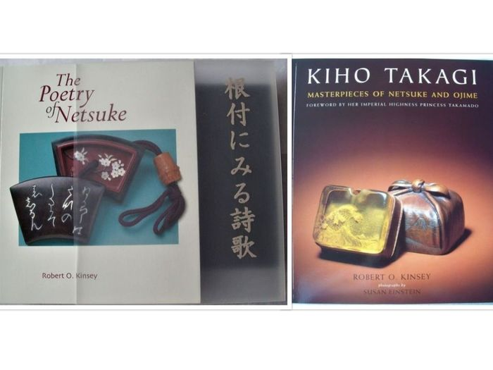 Book (2) - Softcover  - Netsuke Collections - Japan - 2006