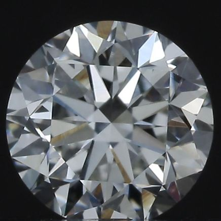 1 pcs Diamond - 0.40 ct - Round - G - VVS2