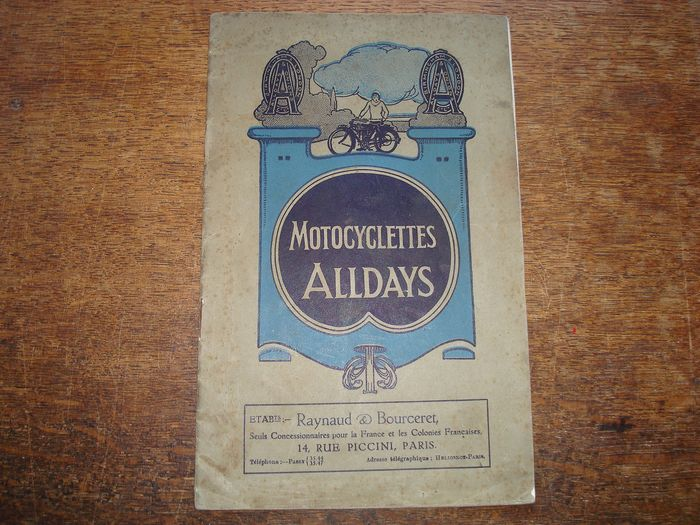 Brochures / catalogues - Alldays and Onions - 1913