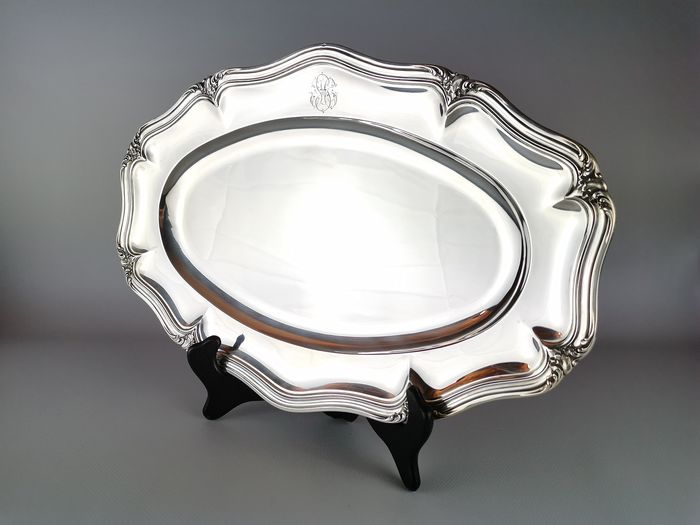 Oval dish - .950 silver - Puiforcat - France - Early 19th century