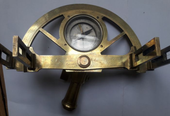 Graphometer, Chevalier, Paris - Brass - mid 19th century