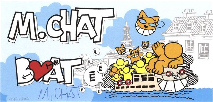 M.Chat aka Thoma Vuille (Monsieur Chat) - Boat Chat