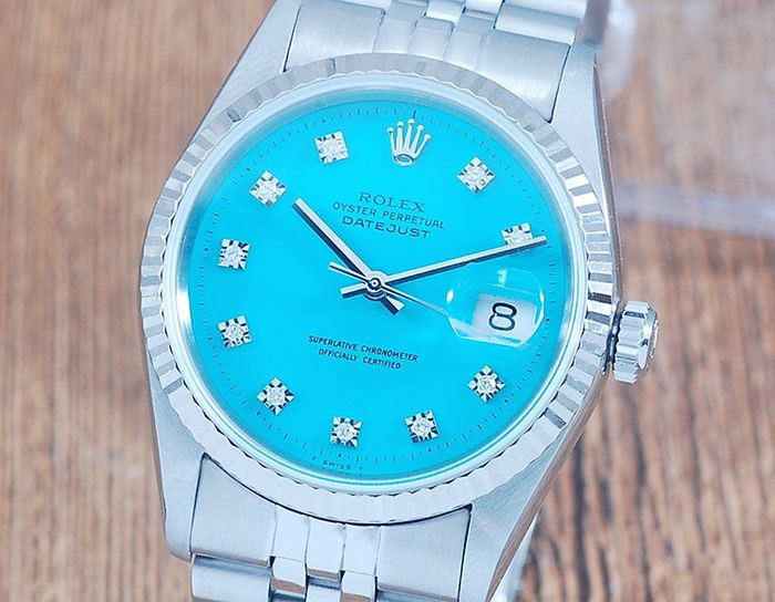 Rolex - Oyster Perpetual Datejust - 16234 - Heren - 1990-1999