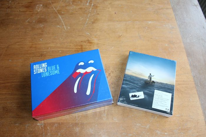 Various Artists/Bands in 1970's - Rolling Stones + Pink Floyd - Multiple titles - CD Box set, Limited edition - 2014/2016