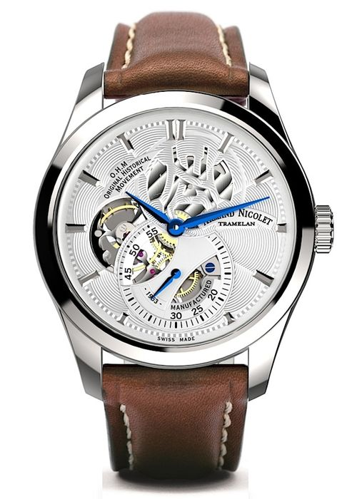 Armand Nicolet - L16 Small Seconds Limited Edition - A132AAA-AG-P140MR2 - authorisierter Händler - Men - 2011-present