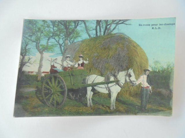 The peasant life - Postcards (Collection of 90) - 1900-1930