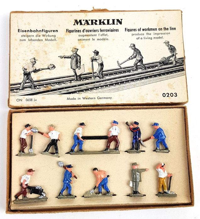 Märklin H0 - 0203 - Attachments - Set of trace figures
