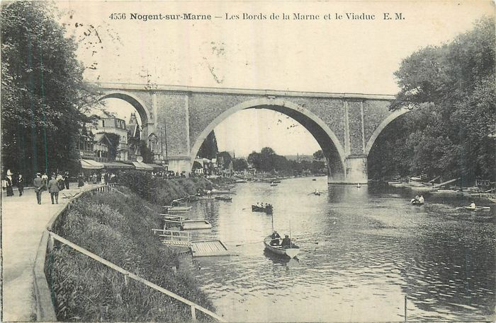 France - Department 94 Val de Marne - Postcards (Collection of 60) - 1905-1935