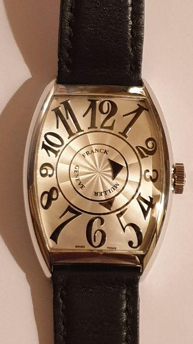 Franck Muller - Cintree Curvex Double Mystery Oro Bianco 18K  - 6850 DM - Hombre - 2000 - 2010