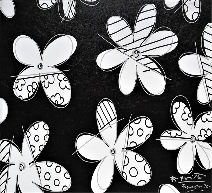 Romero Britto - Flowers