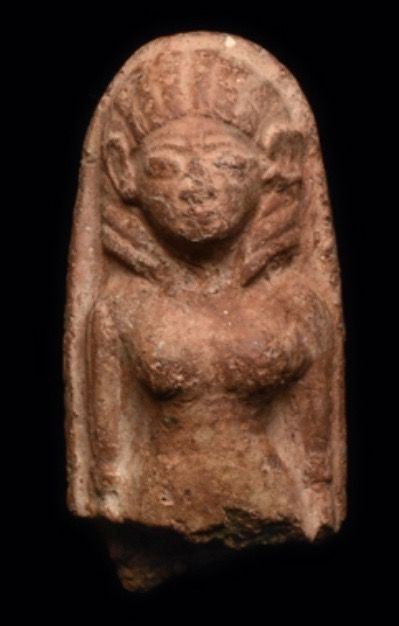 Ancient Near East Pottery Fertility figure (strong Egyptian Influence)  - 8 cm