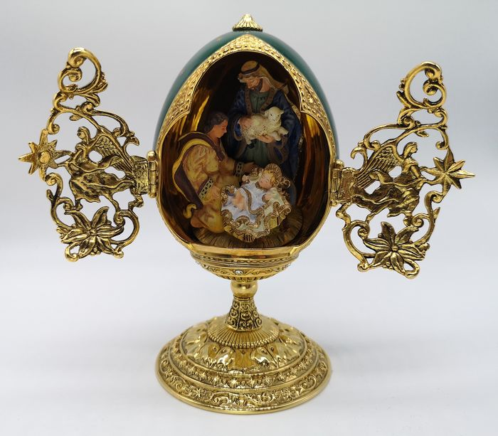 House of Fabergé The Shepherds' Gift Egg - see existing