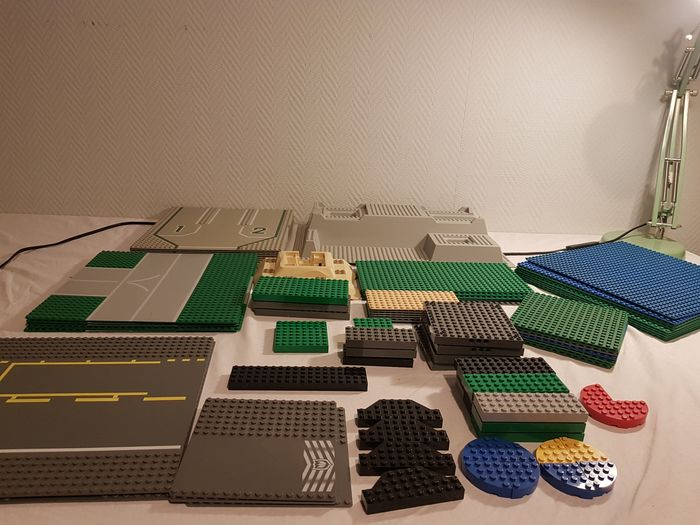 LEGO - Assorti - Various construction and road plates