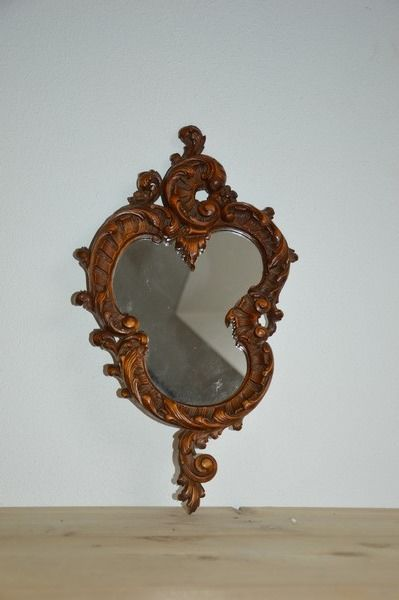 Wall mirror - Rococo Style - Wood