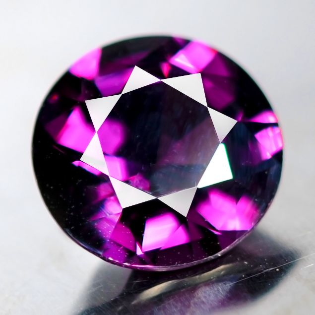 Paars Spinel - 10.14 ct