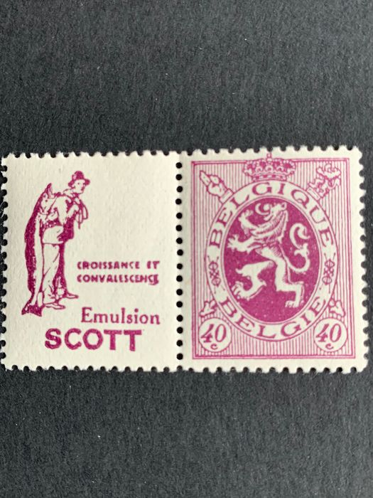 Bélgica 1929 - Advertising stamp type Houyoux PU30 - OBP / COB