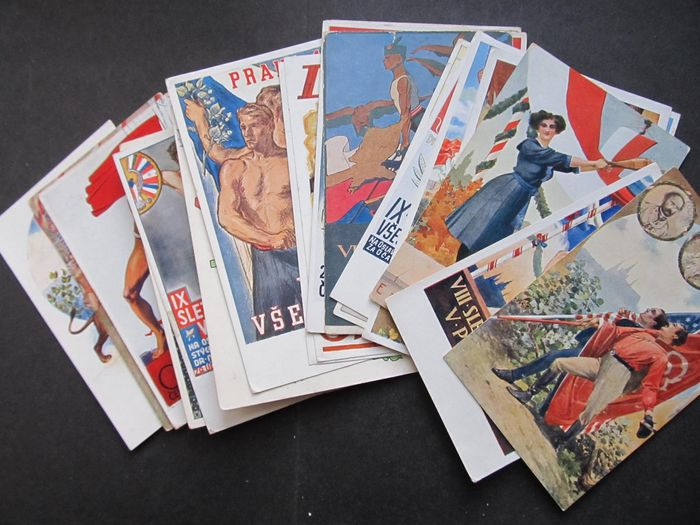 Czech Republic - Sports - Postcards (Collection of 20) - 1900
