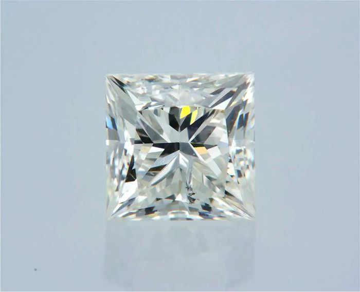 1 pcs Diamond - 0.51 ct - Princess - G - SI1