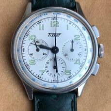 Tissot - Three Register- Chronograph-Cal. CH27 - 6215-1 - Homme - 1950-1959
