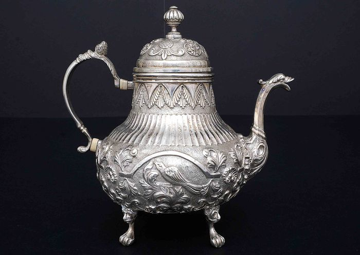 Teapot (1) - .833 silver - Netherlands - Early 20th century