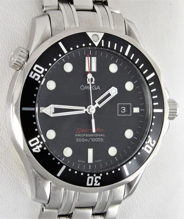 Omega - Seamaster Diver 300m - James Bond 007 - Chronometer - Ref. No: 212.30.41.61.01.001 - Excellent Condition - Warranty - Homem - 2011-presente