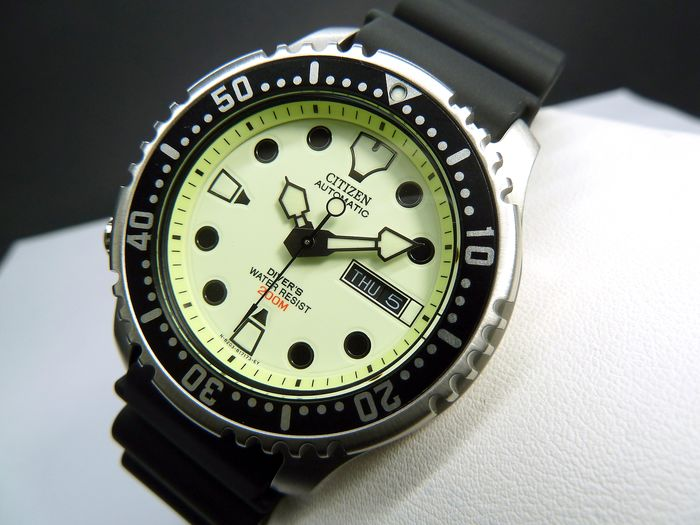 Citizen - Special Edition Luminor Promaster Watches Aqualand Automatic Professional Diver's 200  - NY0040-09W - Herren - 2020