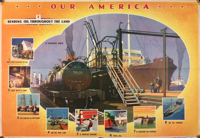 Anonymous - Our America sending oil throughout the land - 1942 - 1940-tallet