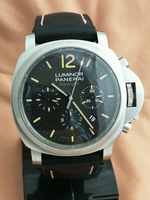Panerai - Luminor - Daylight - Chronograph - PAM00356 / OP6815 - Homem - 2000-2010