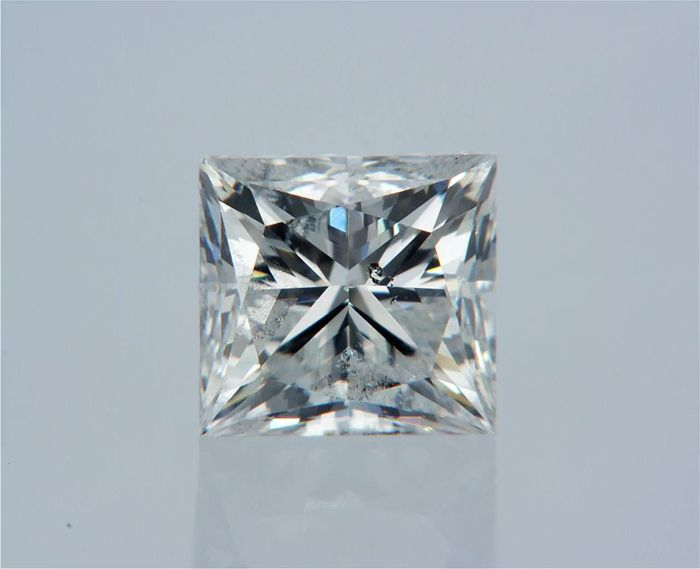 1 pcs Diamond - 0.70 ct - Princess - E - SI1