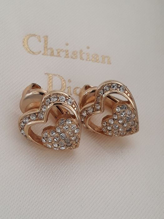 CHRISTIAN DIOR GERMANY Gold-plated - Earrings, ear clips