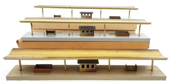 Märklin 00, H0 - 423 - Attachments - 3 platforms