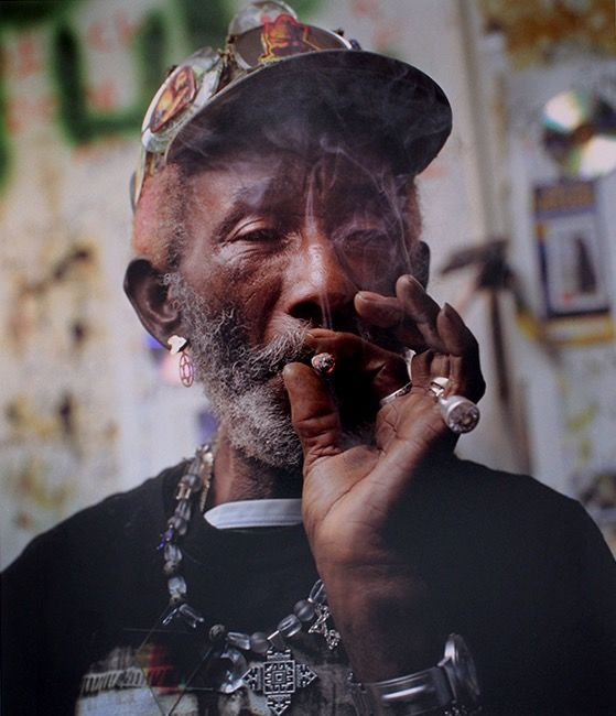 Jamie Beeden (1973-) - Lee 'Scratch' Perry, Switzerland, 2003